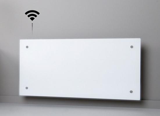 Θερμοπομποί ADAX Clea Glass WiFi