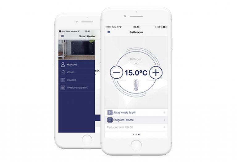 Θερμοπομποί ADAX με WiFi